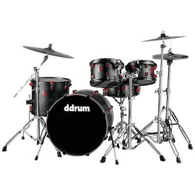 """ddrum Hybrid 5 Player 10/12/16/22/6x14"""" Drum Kit with Triggers"""