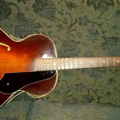 "Epiphone Zenith 1952-53 Hollow Body Guitar Sunburst ""Needs Binding Replaced"" for sale"
