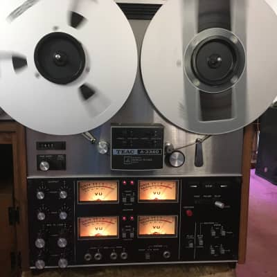 READ!!! TEAC A-3340 10.5 Inch 4 channel stereo quadrophonic reel to reel tape deck recorder