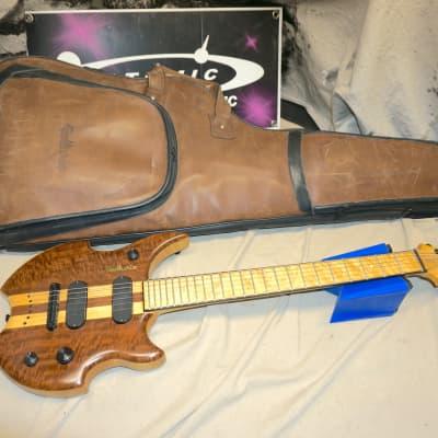 Ballurio Guitars BA.B3SI Artist Electric Guitar with Bag 2005 Maple/Black Walnut for sale