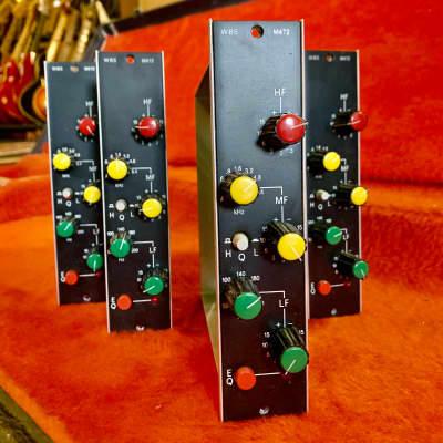 Ward Beck Systems M472 equalizer module original vintage Canadian analog EQ wbs