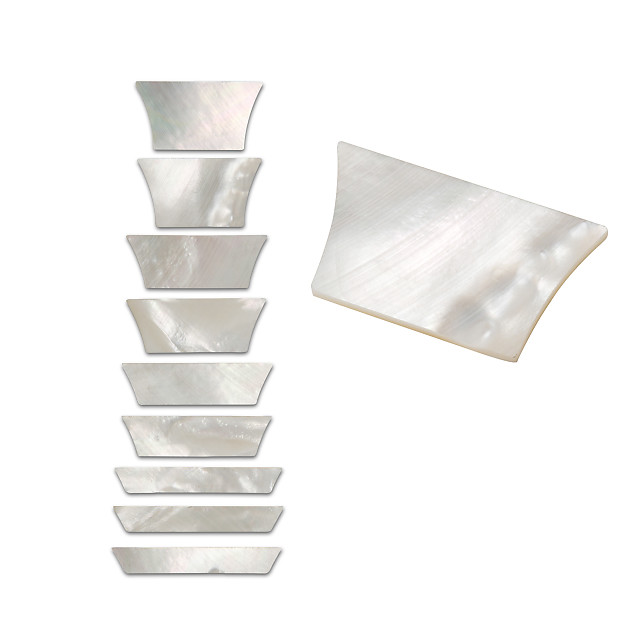 StewMac Pearl Inlay Blanks Gold mother-of-pearl 1oz Pack