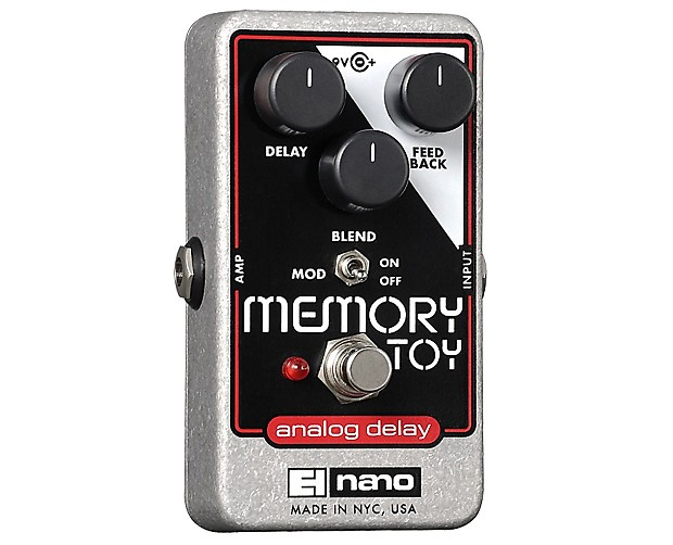 electro harmonix memory toy pedal used proaudiostar reverb. Black Bedroom Furniture Sets. Home Design Ideas