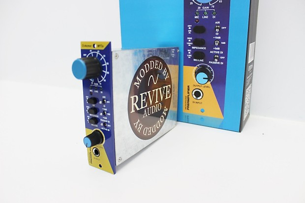 Revive Audio Modified: Alctron Mp73a 500, Mic Preamp, New in Box! Smooth!