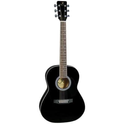 J. Reynolds JR14BK 36-Inch 6-String Classical Acoustic Guitar - Black for sale