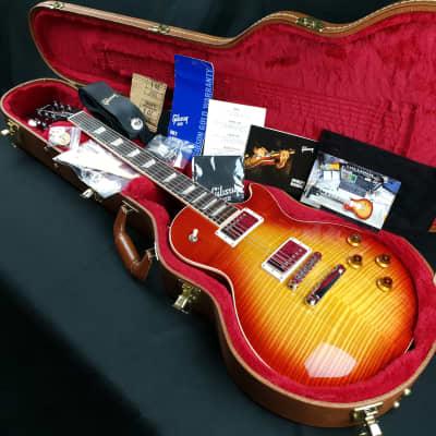Gibson Les Paul Standard 2018 Heritage Cherry Sunburst AAA Flame Maple Top