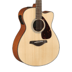 Yamaha FSX800C Acoustic-Electric Guitar - Natural image