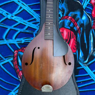 Strad-O-Lin Vintage Mandolin 1940s-1950s Mid-century Sunburst with Case for sale