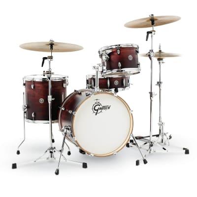 Gretsch Catalina Club  4 Pc Jazz Set,  CT1-J484 - Satin Antique Fade