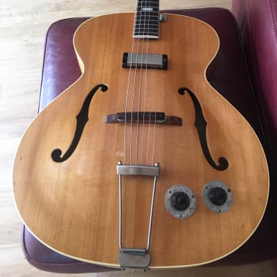 1949 Epiphone Zephyr  Natural Flame NY Pickup OHSC for sale