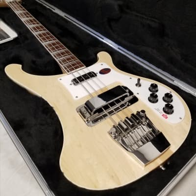 Rickenbacker Electric Bass 4003, Mapleglo (Natural) Bound Body & Neck, Full Inlay W/case, (4003 MG) for sale