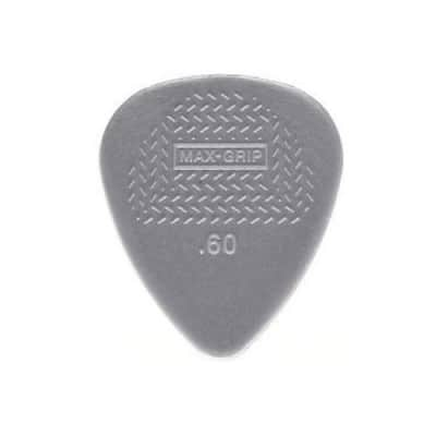 Dunlop Nylon Max Grip Guitar Picks .60mm (12)