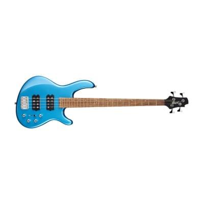 Cort Action HH4 Tasman Light Blue 4 String Electric Bass for sale