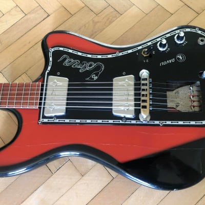Wandre Davoli Cobra I 1964 Red Burst for sale