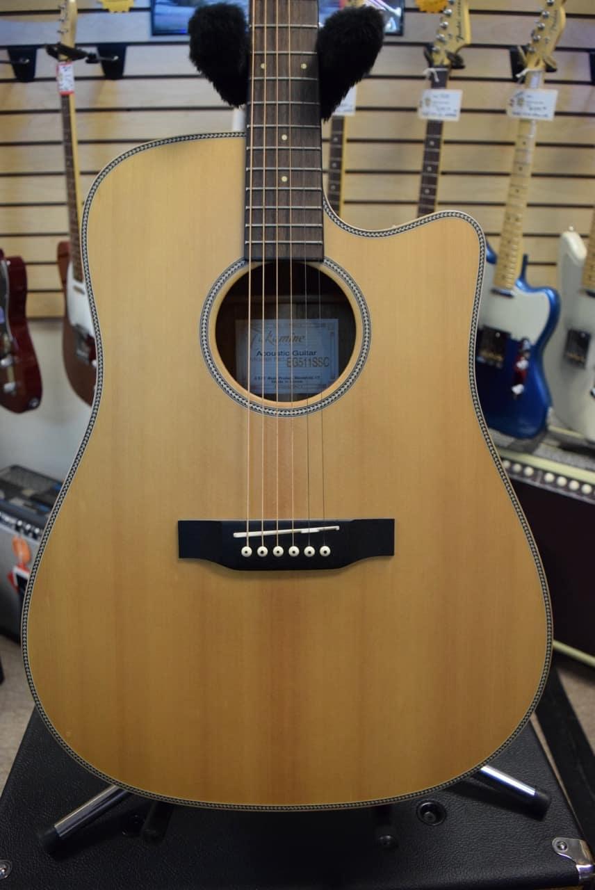 takamine eg511ssc g series acoustic electric guitar reverb. Black Bedroom Furniture Sets. Home Design Ideas