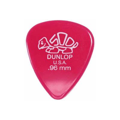 72-Count Jim Dunlop USA 41R.96 Delrin 500 Standard Pack 0.96mm Pink Guitar Picks