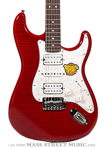 squier stratocaster deluxe hsh red reverb. Black Bedroom Furniture Sets. Home Design Ideas