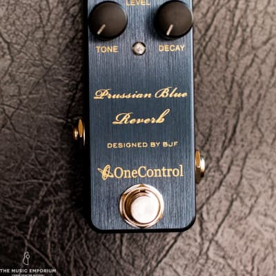 One Control / BJFE Designed Prussian Blue Reverb for sale
