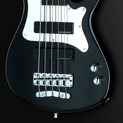 ROCKBASS Artist Line Steve Bailey 5 Solid Black, active, Long Scale for sale