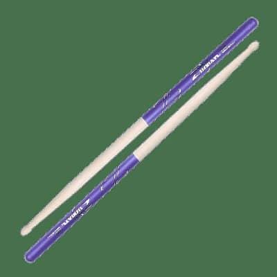 Zildjian Z5ADP 5A Wood Tip Purple DIP (Pair) Drum Sticks