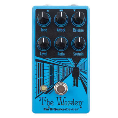EarthQuaker Devices The Warden - Optical Compressor [Three Wave Music] for sale
