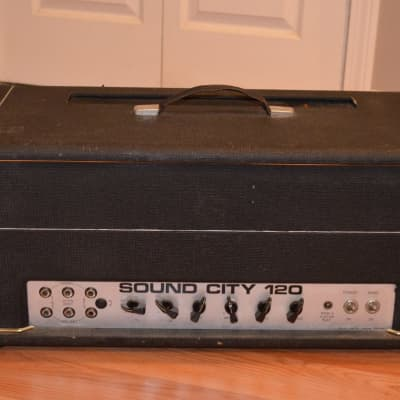 Sound City L120 Head, 1973 for sale