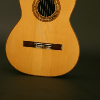 Milburn Brazilian rosewood/spruce classical 1996 French polish for sale