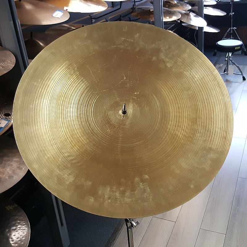 used zildjian 22 1970 39 s a flat top bell ride cymbal reverb. Black Bedroom Furniture Sets. Home Design Ideas