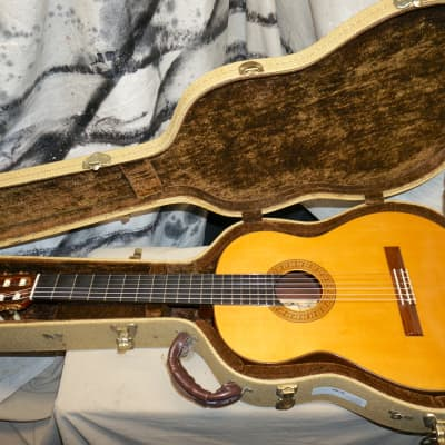 Vintage 1987 Douglas Ching Hawaii Concert Classical Guitar Brazilian Rosewood / Spruce with Case for sale