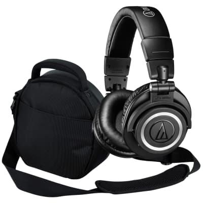 ba54e76c95c Audio-Technica ATH-M50xBT Wireless Over-Ear Headphones - Carry Bag Kit