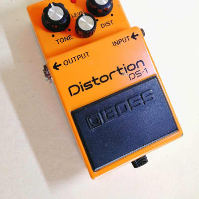 Boss DS-1 Distortion (Black Label) 1991 *MIJ* Taiwan for sale