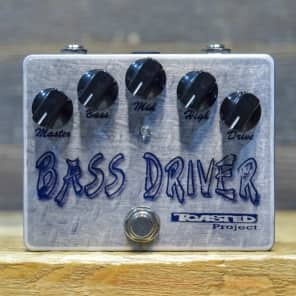Toasted Project Bass Driver Handmade by PIC Bass Overdrive Effect Pedal w/Box