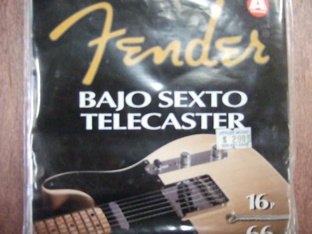 fender bajo sexto telecaster 1090a strings reverb. Black Bedroom Furniture Sets. Home Design Ideas