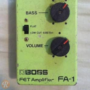 Boss FA-1 FET Amplifier 1983
