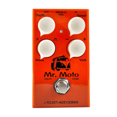 J Rockett Audio Designs Mr. Moto Tremolo/Reverb - Used for sale