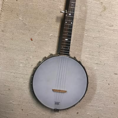 Saga SS10P 2000s Pony Short-Scale Travel Banjo for sale