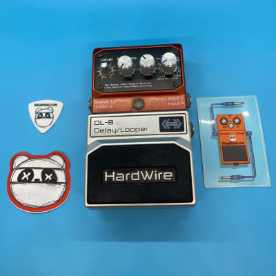 Hardwire DL-8 Delay Looper (Onboard Tap Tempo) +Sticker | Fast Shipping!