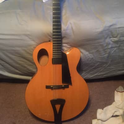 Andersen Oval hole archtop 1994 Natural for sale