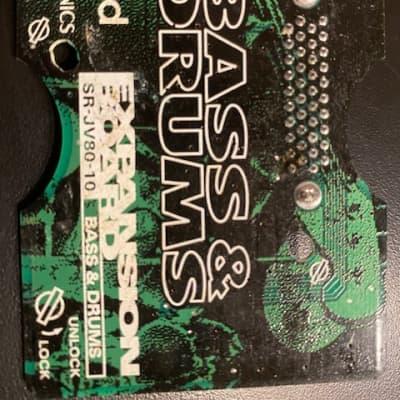 BASS &DRUMS ROLAND EXPANSION BOARD SR-JV80-10