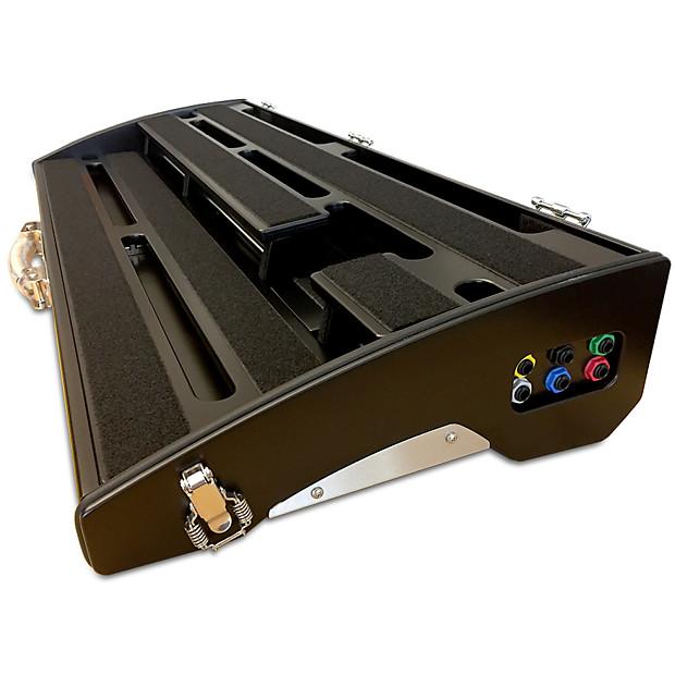schmidt array sa750w black innovative pedalboard with wah reverb. Black Bedroom Furniture Sets. Home Design Ideas