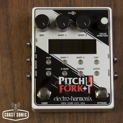 Electro-Harmonix Pitch Fork+ Polyphonic Pitch Shifter