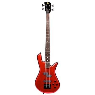 Spector PERF4MRD Performer Series 4 String Bass Guitar - Metallic Red