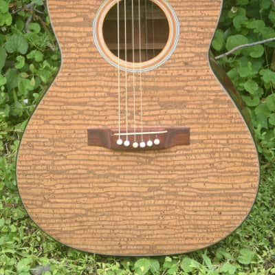 Morales by Zenon Parlaor size Guitar New Yorker 1972 Natural Cork Laid on Top for sale