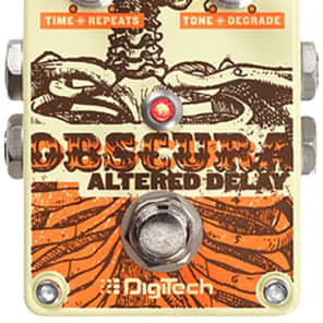 DigiTech Obscura 2 Second Altered Delay Electric Guitar Effect Effects Pedal for sale
