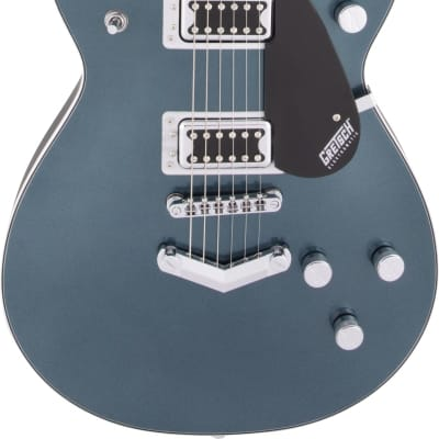 Gretsch G5222 Electromatic Double Jet BT w/V-Stoptail  Jade Grey Metallic