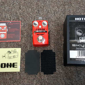 Hotone CHUNK Distortion Mini Pedal for sale