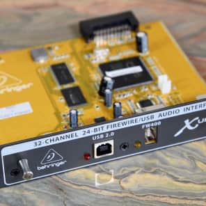 Behringer X-UF 32-Channel Firewire / USB Expansion Card for X32