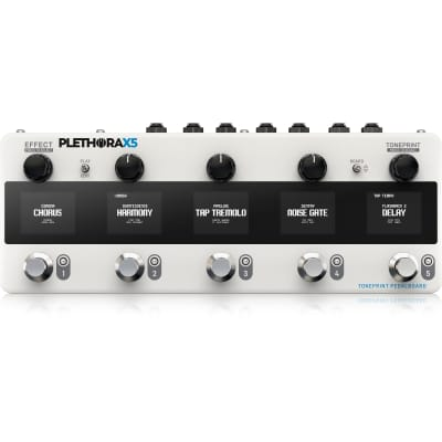 TC Electronics Plethora X5 Toneprint Enabled Multi-Effects Guitar Pedalboard for sale