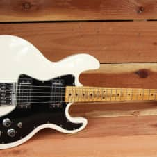 1983 VINTAGE PEAVEY USA T-60 T60 in RARE White HH ALL ORIGINAL & Clean! 0713 image