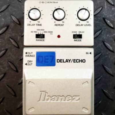 Ibanez DE7 Delay Echo ToneLok series Read Description FREE SHIPPING image